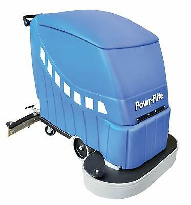 Powr-Flite PAS32-DXBC Self-Propelled Battery Powered Automatic Scrubber, 225 rpm
