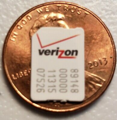 AT&T NANO SIM Card 4Ff New Good For Activation Or Bypass All