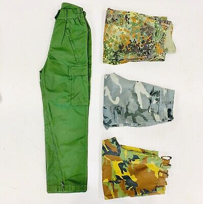 30 x MILITARY /  COMBAT TROUSERS - GRADE A - BULK VINTAGE WHOLESALE