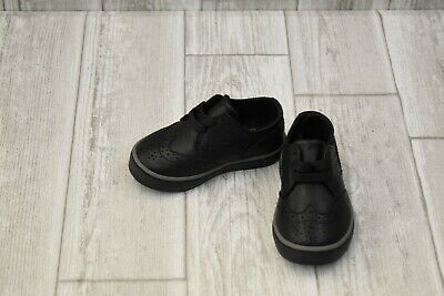 **NEW Polo Ralph Lauren Kids Alek Oxford - Toddler Boy's Size 5 - Black