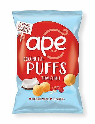 Ape Coconut Puffs - Thai Chilli (Pack of 24)