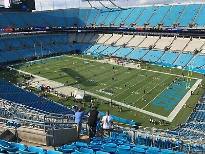 (3) Carolina Panthers vs New Orleans Saints (FRONT ROW)