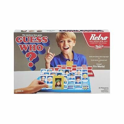 Guess Who? Game Retro Series 1988 Edition Beloved Game Adults Mystery Person
