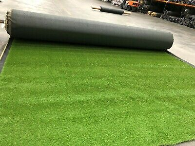 Cheap Artificial Fake Grass Clearance Roll End Remnant 37mm Off Cuts Astro Turf.