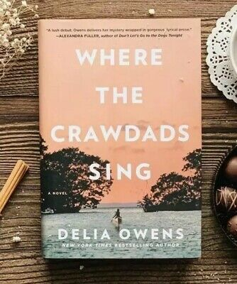 NEW Where the Crawdads Sing by Delia Owens hardcover book #1 NY times bestseller