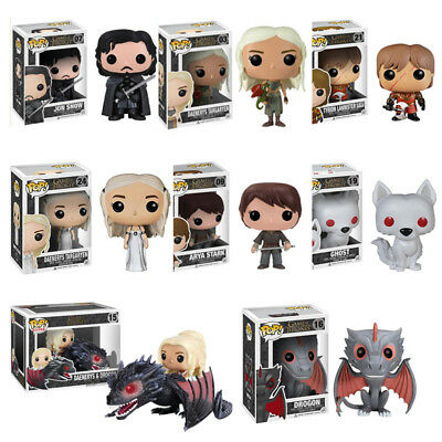 Funko Pop Kids Toys Xmas Gift Game Of Thrones 8 Vinyl Figure Collectable Toy