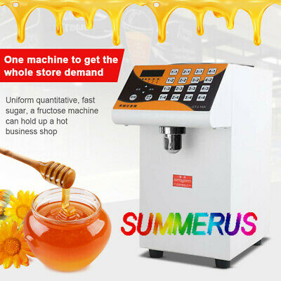 110V Bubble Tea Equipment 280W Fructose Quantitative Machine Fructose Dispenser