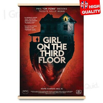 Girl on the Third Floor 2019 Thriller/Horror Movie Poster Print | A4 A3 A2 A1 |