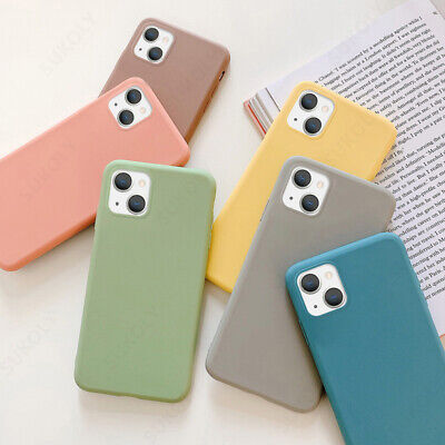 Frosted Matte Candy Soft Silicone Case Cover For iPhone XS Max XR X 8 7 6s Plus