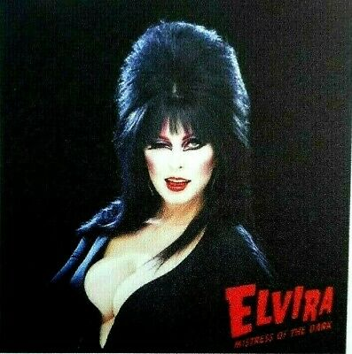 "Elvira Mistress Of The Dark  Sticker T.V. Horror Queen 2.3/4"" x 2.3/4"""