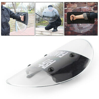 Anti-Riot Shield Circular Shield Police Tactical CS Campus Security PC 4.2MM