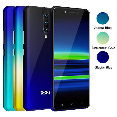 """16GB ROM 5.5"""" Android 9.0 Mobile Phone Unlocked Smartphone Free Dual SIM 4G LTE"""