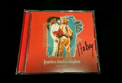 Halsey CD - Hopeless Fountain Kingdom (SIGNED) Perfect Condition - 2017