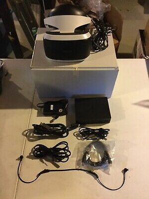PlayStation VR PS4 PS VR Bundle Complete Headset Processor Unit & Cables