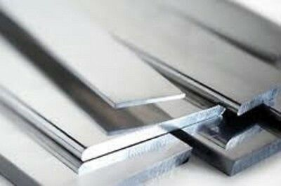"Alloy 304 Stainless Steel Flat Bar 1//4/"" x 2/"" x 24/"""
