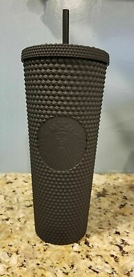 Fall 2019 Starbucks Matte Black Studded Tumbler Cup Limited Edition SOLD OUT!