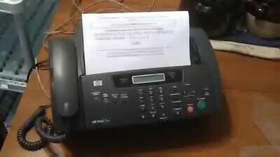 HP1040 Inkjet Fax Machine w/built in telephone handset