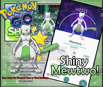 Pokemon Go Shiny Mewtwo 100% guarantee slash ban safe!