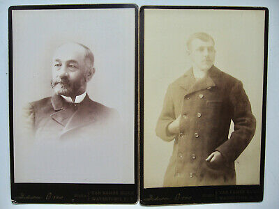 1880's Era Group of Four Cabinet Views of  Men (No. 2)