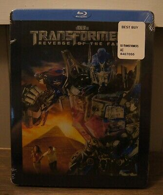 New! Transformers Revenge Of The Fallen Collectible Steelbook Blu-ray