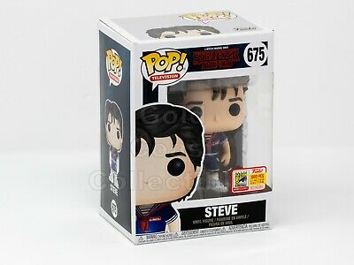 Funko Pop Television Exclusive Steve Scoops Ahoy Stranger Things SDCC Fundays 18
