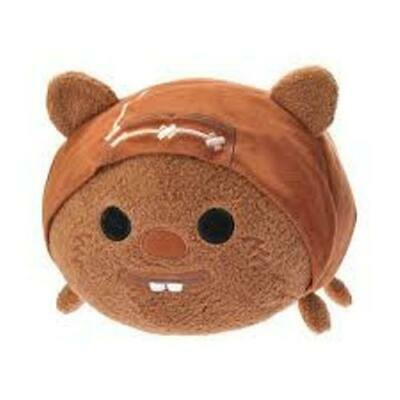 Disney's Star Wars Ewok Wicket ''Tsum Tsum'' Plush APPROX 11""