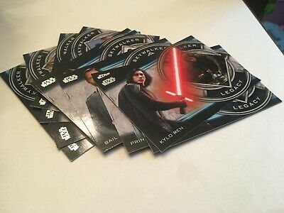 Topps Star Wars Skywalker Saga 2019 Skywalker Legacy Complete Insert Set of 10