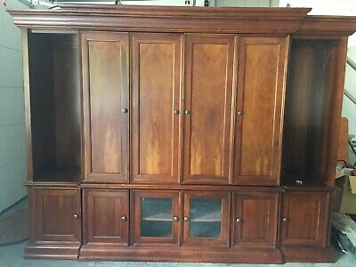 Hooker Entertainment Center- Solid Wood