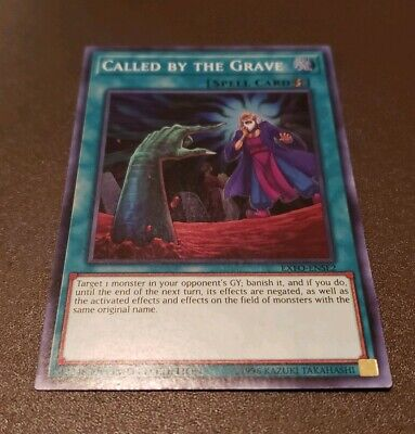 Yu-Gi-Oh! Called by the Grave -EXFO-ENSE2 - Super Rare - Limited Edition NM!