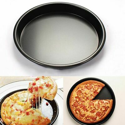 Round Pizza Tray Nonstick Pan Pancake Muffin Mold Oven Bakeware Baking Tools