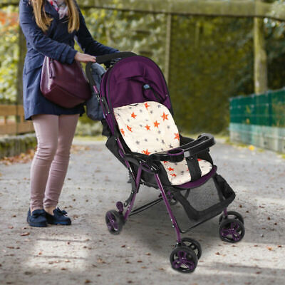 Newborn Baby Kids Stroller Pram Pushchair Car Seat Liner Pad Mat Soft Cushion