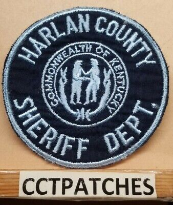 BARREN COUNTY, KENTUCKY Sheriff (Police) Shoulder Patch Ky