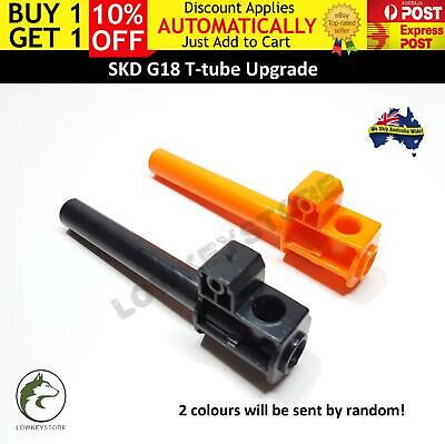 Upgrade T-tube for SKD G18 Gel Ball Blaster Glock 18 GLK Toy Parts Accessories