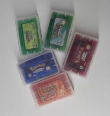Pokemon Set Leaf Green /FIRE RED/RUBY/SAPPHIRE/Gameboy Advance Multi Lang