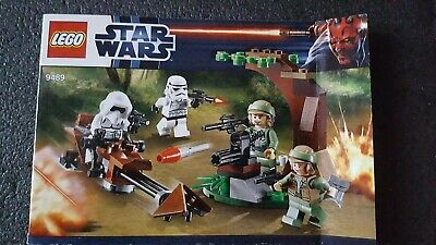 Lego Star Wars 9489 Instruction Booklet Only