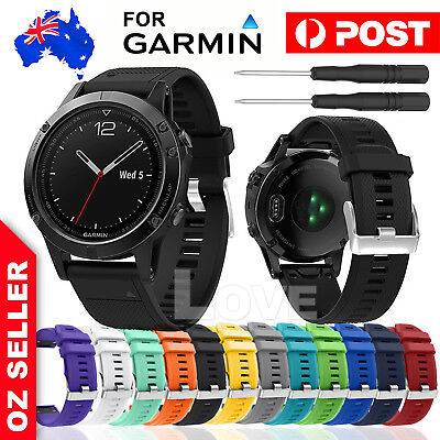 Replacement Quick Fit Watch Band Strap For Garmin Fenix 5/5X Wristband
