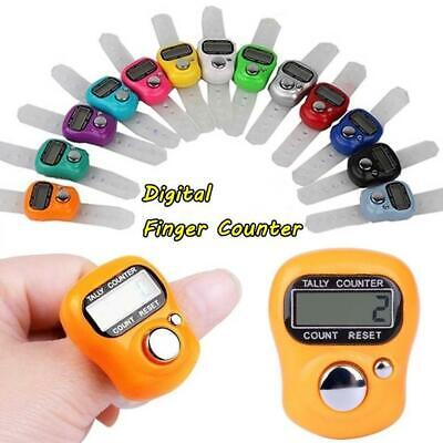Electronic Row Counter Finger Ring Golf Digital Marker Counter Tally ·NEW L F8L1