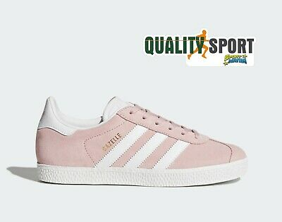 Adidas Gazelle Rosa Scarpe Shoes Donna Sportive Sneakers Sportive BY9544 2019