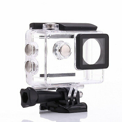 Waterproof Skeleton Housing Protective Camera Case Cover For GoPro Hero 4 3 fo12