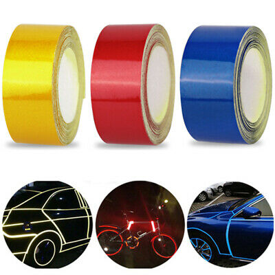 3m Car Safety Warning Reflective Tape Stickers Roll Film Reflector Sticker IZB