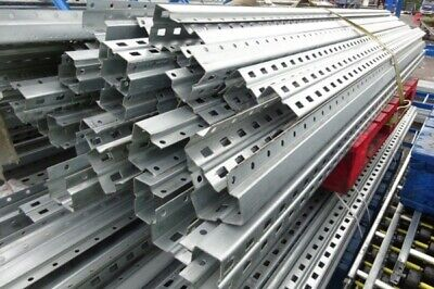 Used Bito Storage Systems 2.500 Mtr Galvanised Uprights - Racking - Industrial s