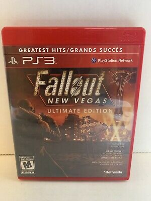 Fallout New Vegas Ultimate Edition Greatest Hits Playstation 3 COMPLETE Like New