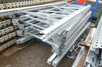 Used Bito Storage Systems 2.500 Mtr x 900 mm Galvanised Upright Frames - Racking