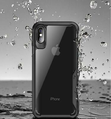 Case for iPhone 8 7 6 6S Plus XR XS MAX ShockProof Bumper Cover TPU Silicone