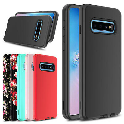 For Samsung Galaxy S10/S10 Plus/S10e Case Hybrid TPU Hard Dual Layer Phone Cover