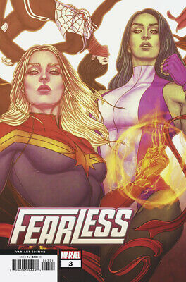 Fearless #3 (Of 4) Frison Connecting Variant (25/09/2019)