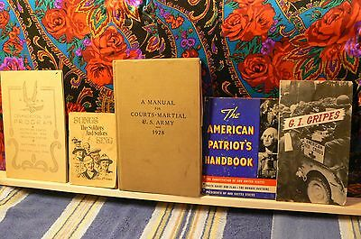 Very Rare Vintage 5 Vol Lot The American Patriots Handbook Wwi Wwii Very Rare