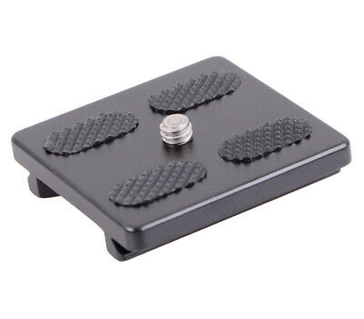 Jusino Quick Coupling Plate Quick Release Plate for BT-02 Tripod Head