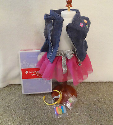"""American Girl LOVE TO LAYER ACCESSORIES FOR 18"""" DOLL - NEW, COMPLETE IN BOX"""