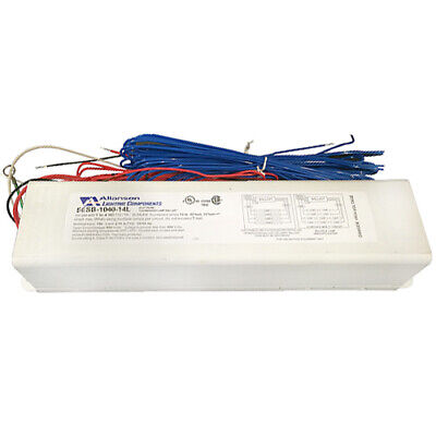 SAME COLORS! ALLANSON ELECTRONIC SIGN BALLAST RSS 696 AT SIMPLE easy wiring